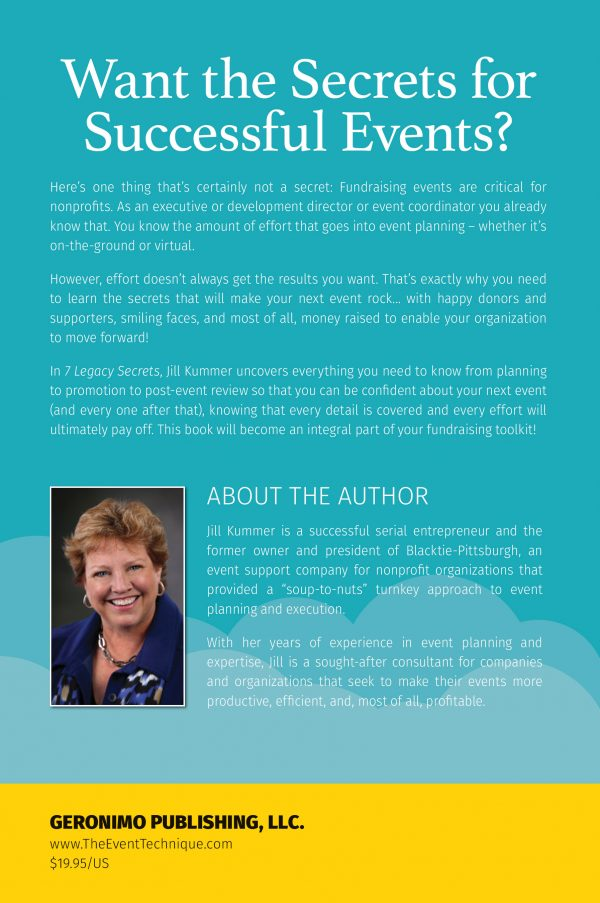 7 Legacy Secrets book back cover